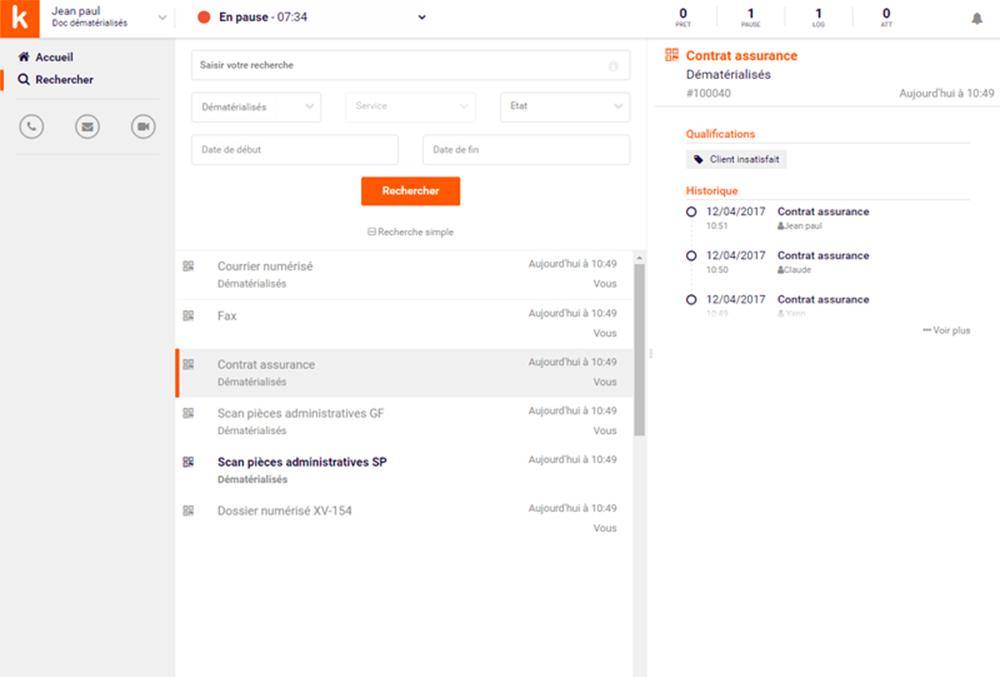 Gérez tous vos documents dans une interface unique