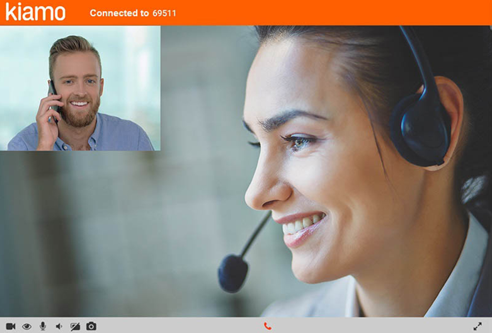 Make the most of video-conferencing features