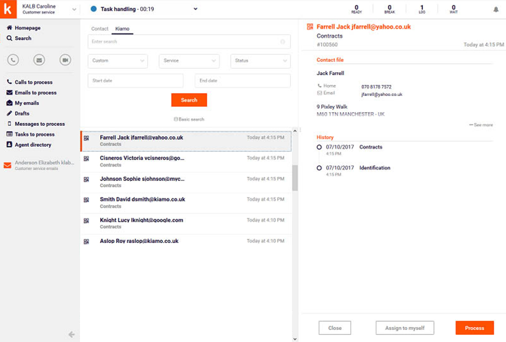 Manage all your documents from a single interface
