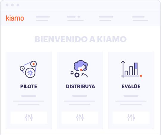 Bienvenido a Kiamo
